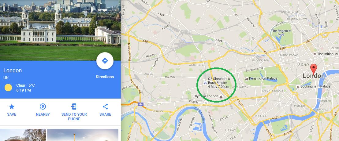 Daca uitam unde trebuie sa fiu intr-o zi din mai....mai stie Google :)