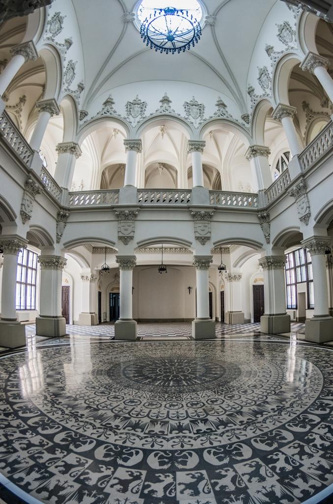 palatul culturii renovat parter