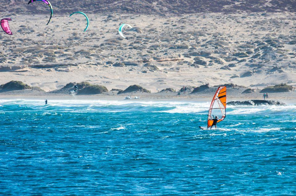 El Medano surfer